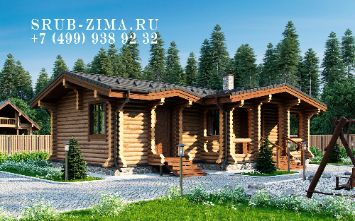 Проект дома коттеджа | srub-zima.ru +7 (499) 938 92 32