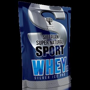 картинка Сывороточный протеин Silver Ice Whey (натуральное какао) - Siberian Super Natural Sport