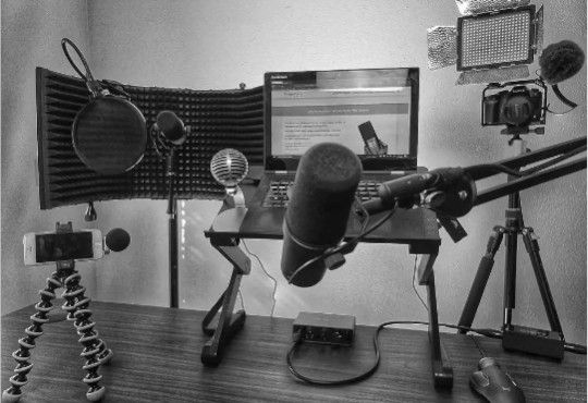 Shure конденсаторный и динамический микрофоны