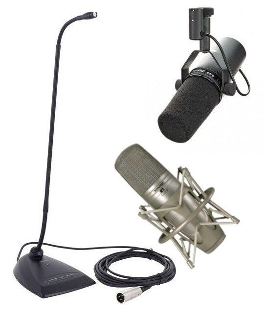 Shure проводные микрофоны SM7B