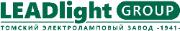 Logo LEADlight Group. Томский электроламповый завод