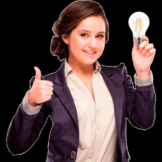 Лампочка томича - светит ярко без мерцания