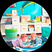 Светодиодная лампа для детской