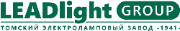 Logo LEADlight Group. Томский электроламповый завод