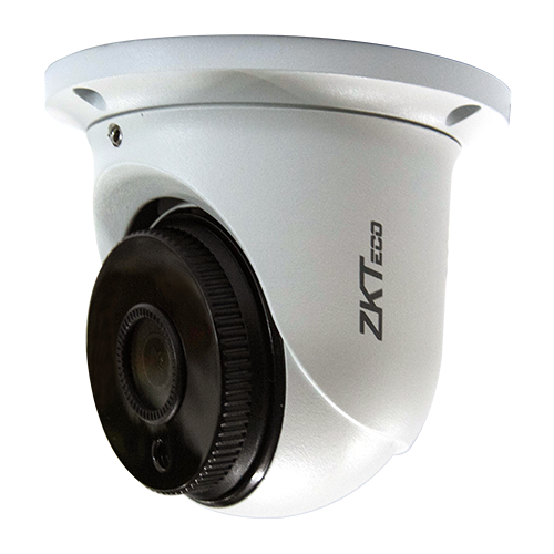 "картинка Видеокамера купольная  ZKTECO ES-852K11H 1/2.7"" CMOS; 1920x1080(1-20fps); H.265+/H.265/H.264; IR Range 10-20m; Fixed Lens 2.8mm; DWDR, 3D DNR, BLC, ROI; PoE; IP67 IP Camera EZ series Mini Eyeball от комании Армата"