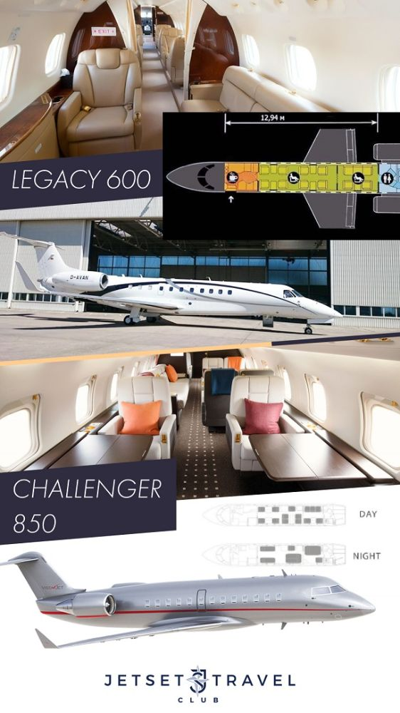 JetSharing Самолеты