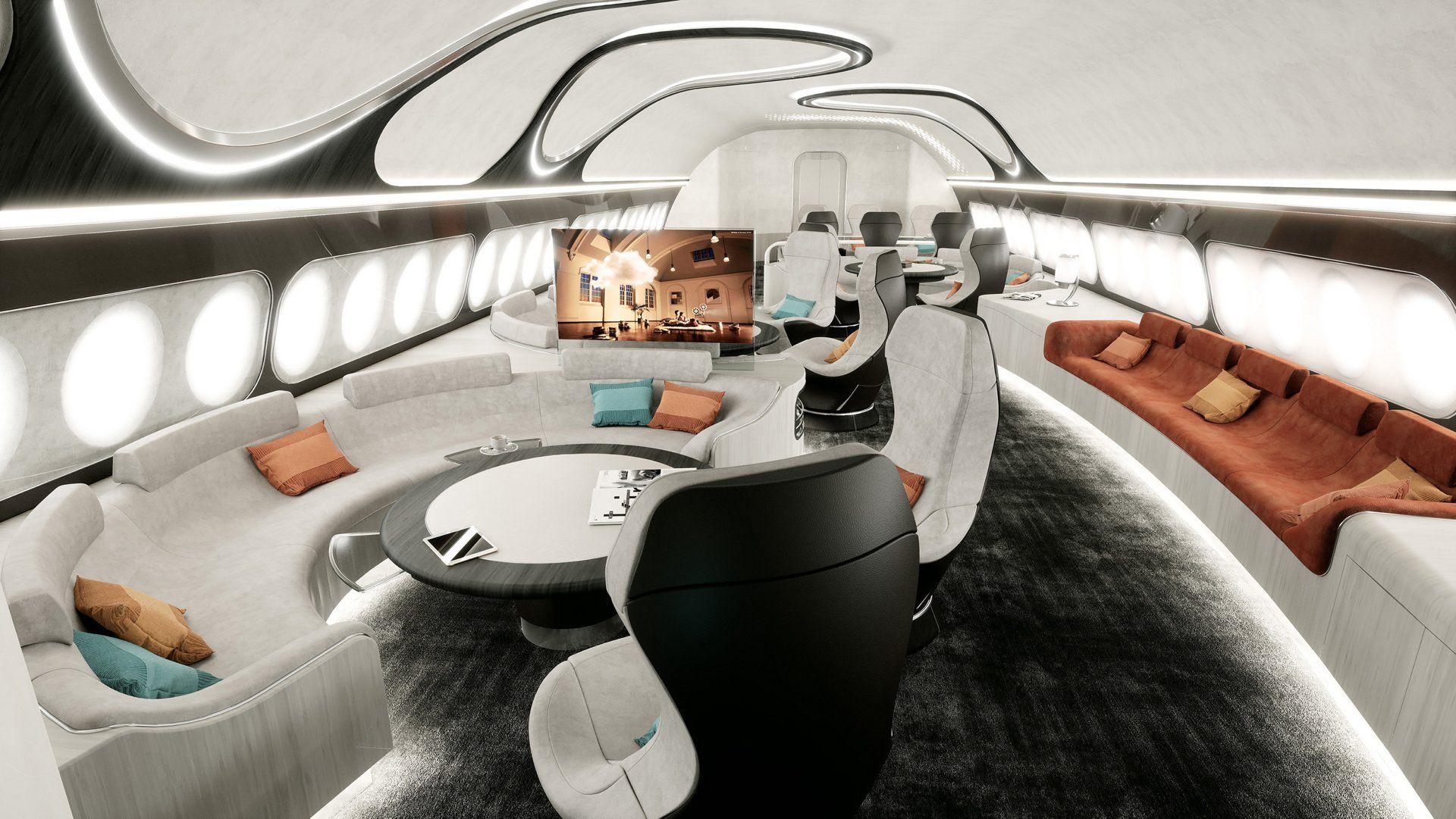 Бизнес авиация класса люкс
