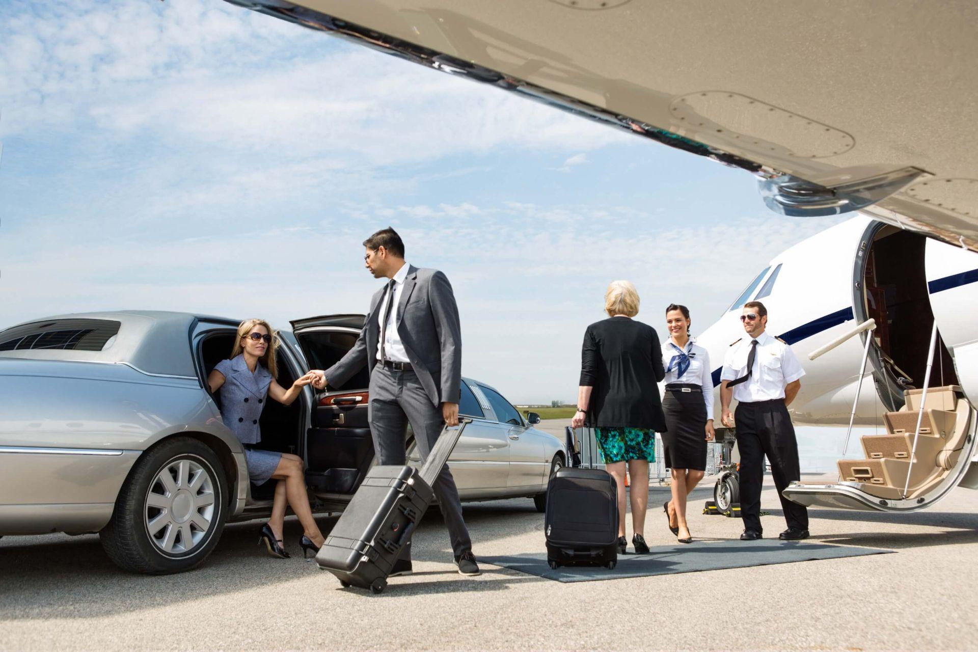 Экипаж бизнес самолета