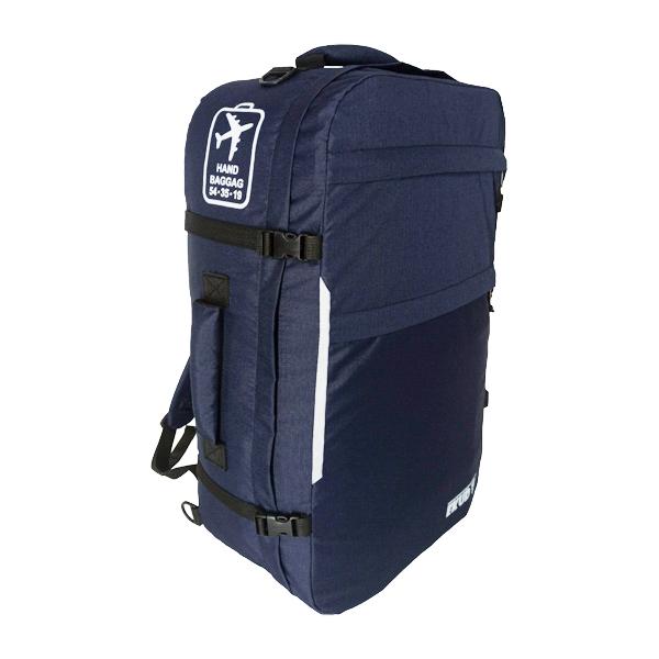 картинка Сумка – рюкзак ручная кладь «Air backpack» (54х35х19) 35л. Темно-синий от  EKUD