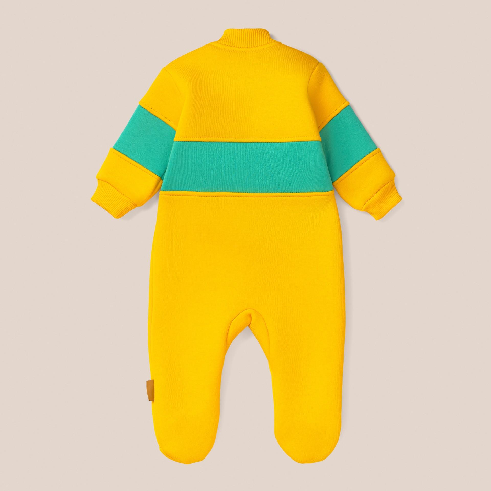 312017, Комбинезон детский трехцветный от магазина Lemive
