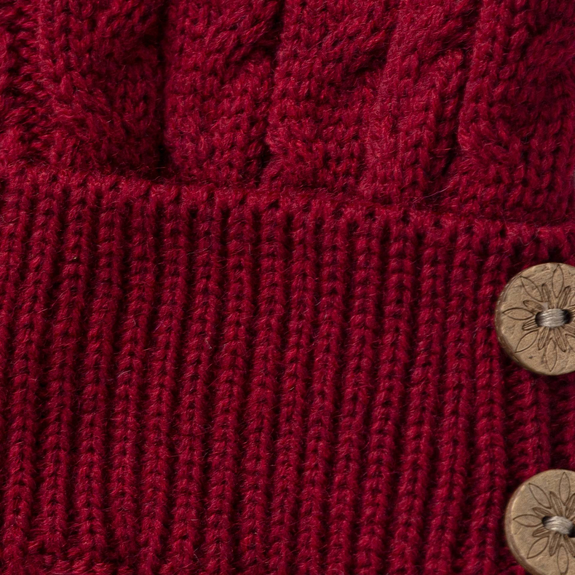 608005, Штаны вязаные для девочек из мериносовой шерсти от магазина Lemive
