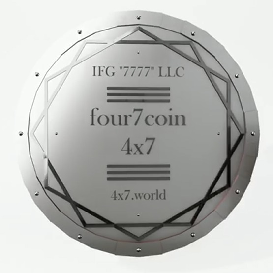 Лот Серии 1: 10 tokens four7 coin (4x7).