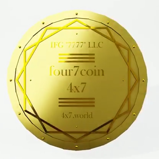 Лот Серии 2: 1 000 tokens four7 coin (4x7).