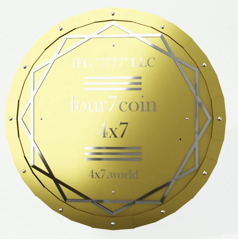 Лот Серии 3: 200 000 tokens four7 coin (4x7).