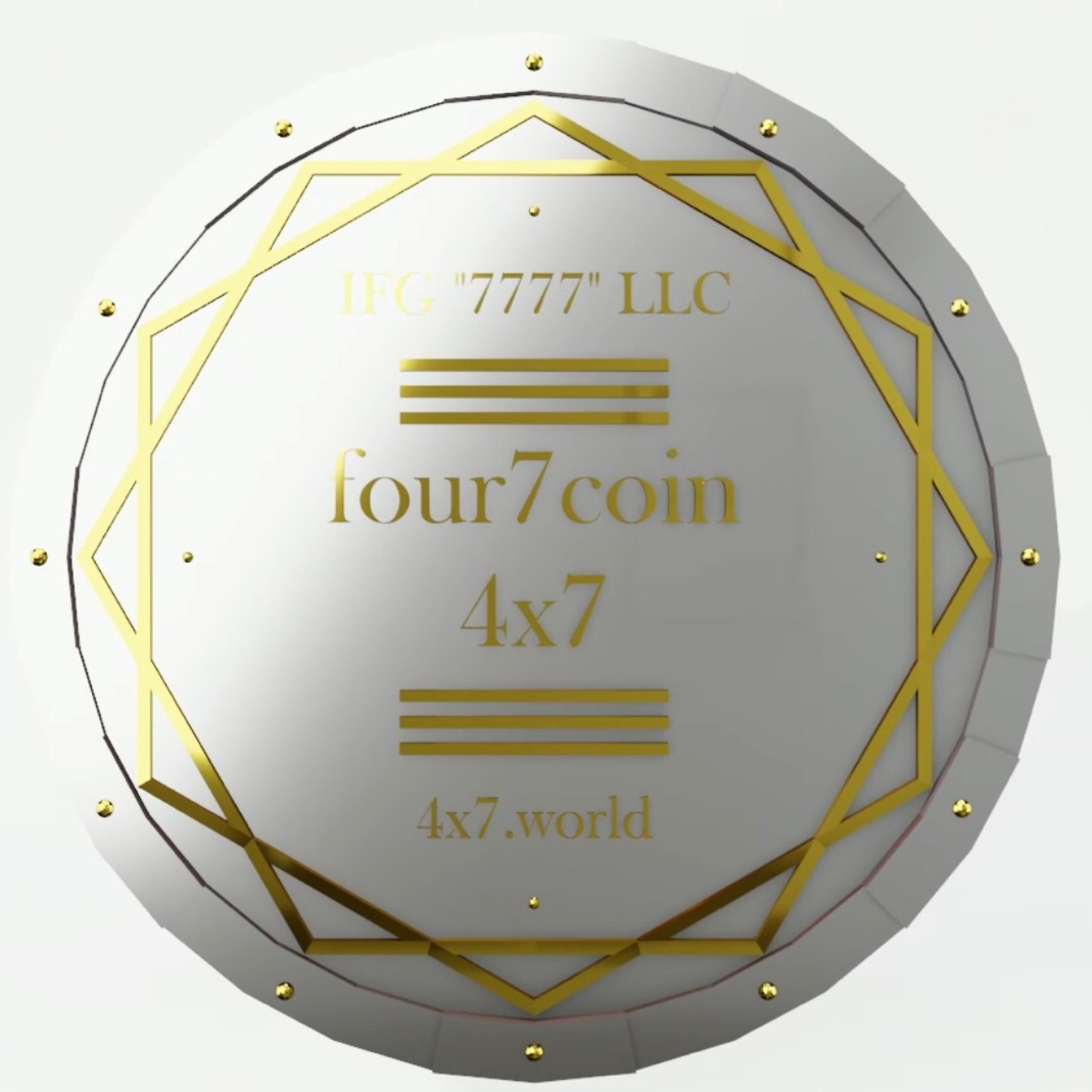 Лот Серии 3: 1 000 000 tokens four7 coin (4x7).
