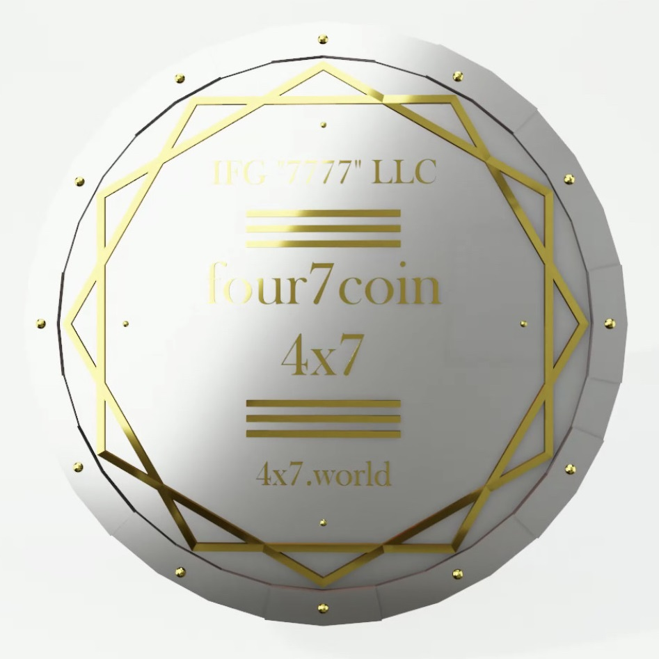 Лот Серии 3: 500 000 tokens four7 coin (4x7).