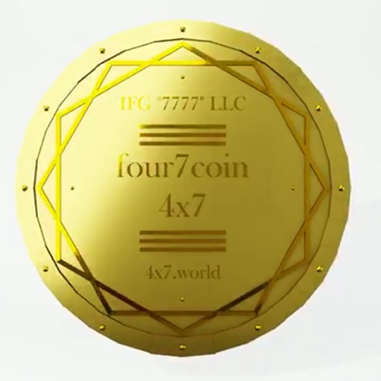 Лот Серии 2: 200 tokens four7 coin (4x7).