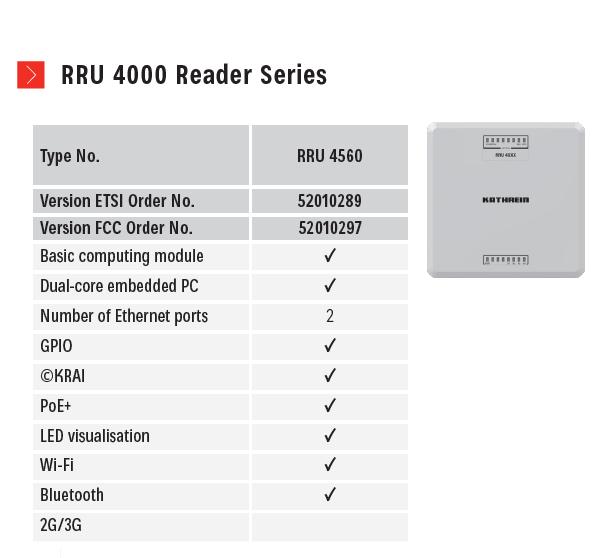картинка RRU 4560 Reader Unit, 4Port, PoE+, ©KRAI, Linux, WiFi, IP67 от магазина IoT Solutions