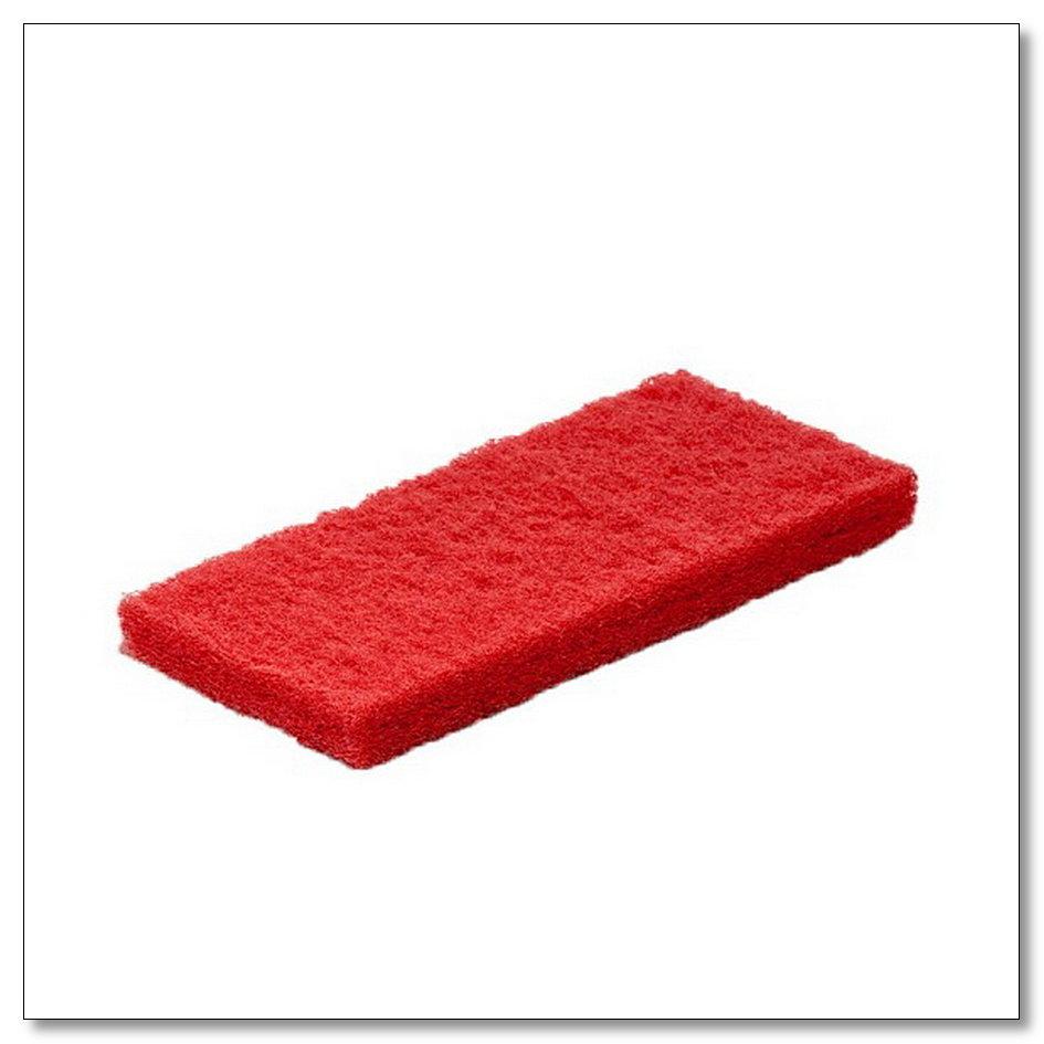 Пад абразивный ручной красный 12х25 см, интернет-магазин Убирай-Крым г.Симферополь .