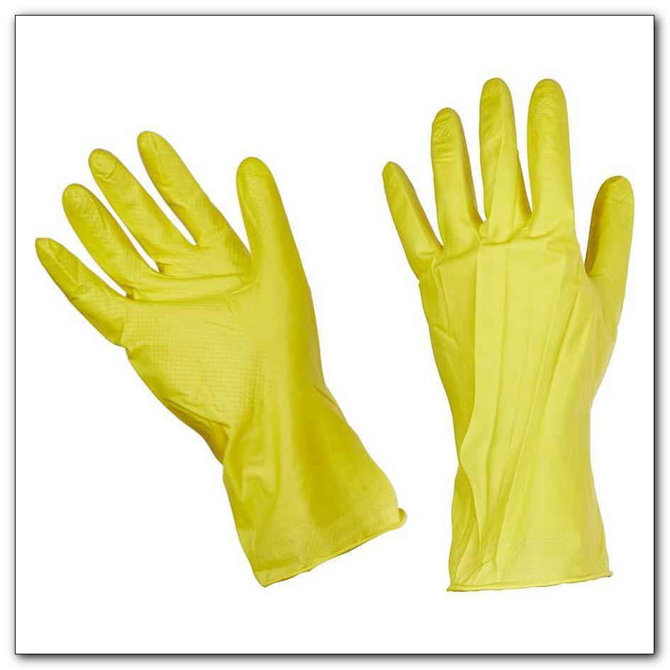 Перчатки хозяйственные латексные с хлопковым напылением размер M, интернет-магазин Убирай-Крым г.Симферополь
