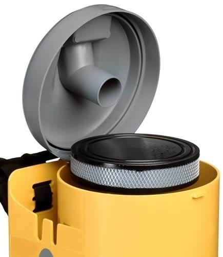 Аккумуляторный ранцевый пылесос Ghibli T1 BC LITHIUM, интернет-магазин Убирай-Крым г. Симферополь