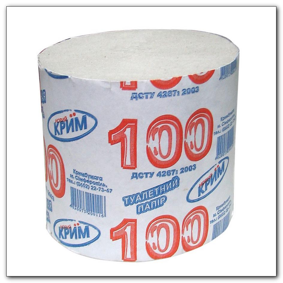 Туалетная бумага Крым 100, интернет-магазин Убирай-Крым г.Симферополь .