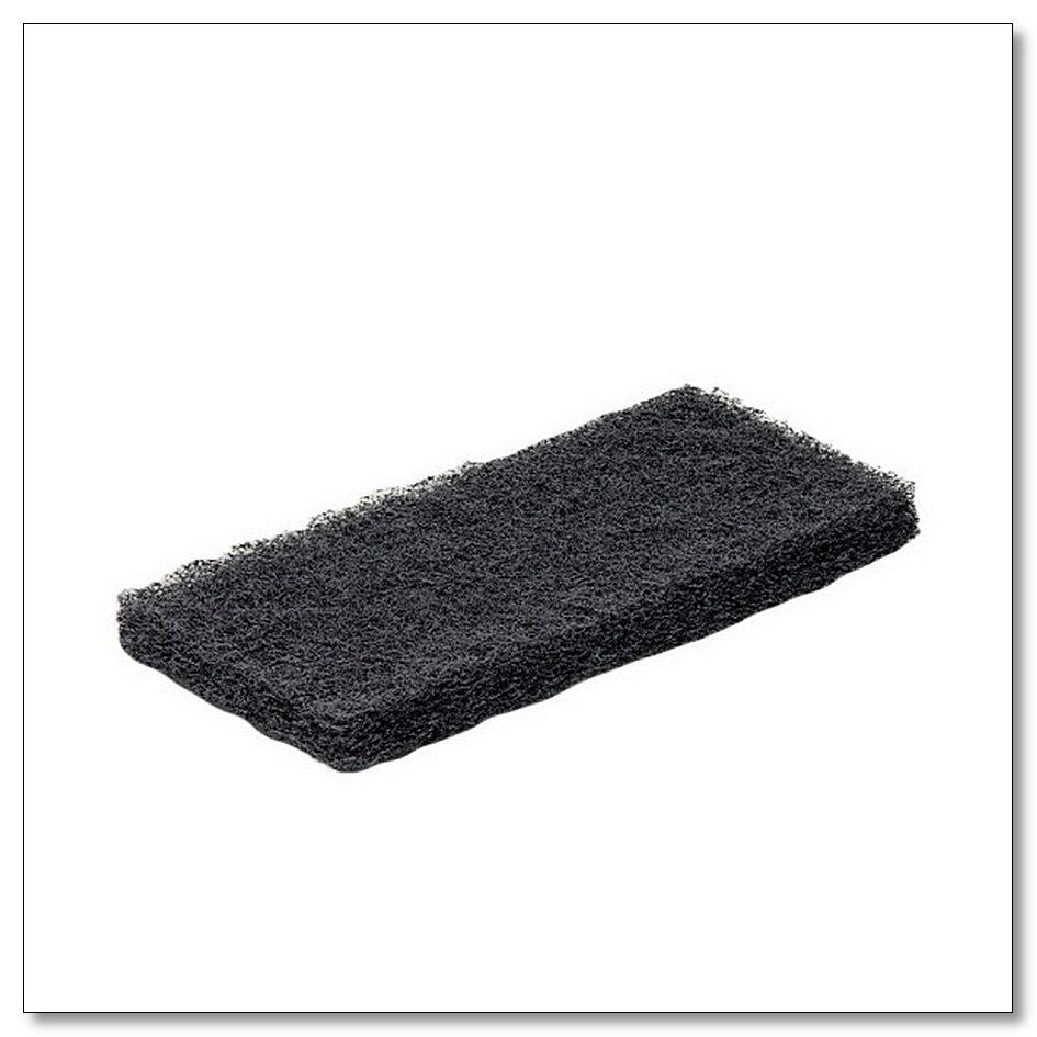 Пад абразивный ручной черный 12х25 см, интернет-магазин Убирай-Крым г.Симферополь .