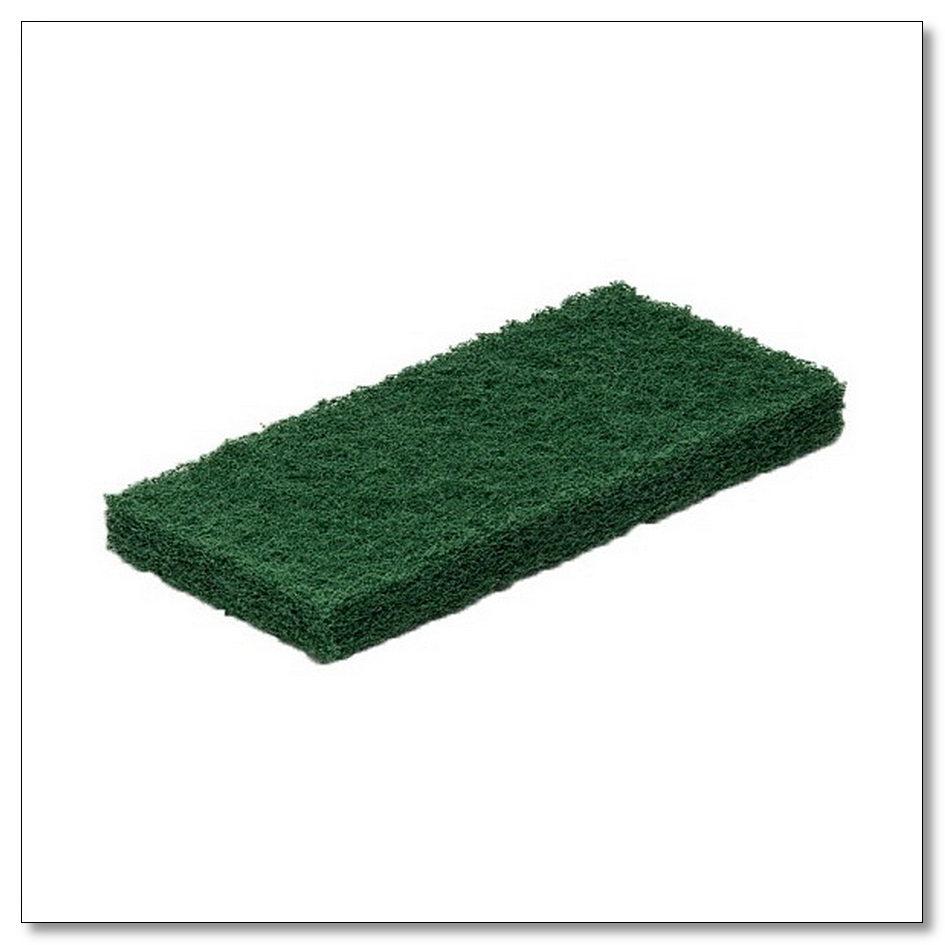 Пад абразивный ручной зеленый 12х25 см, интернет-магазин Убирай-Крым г.Симферополь .