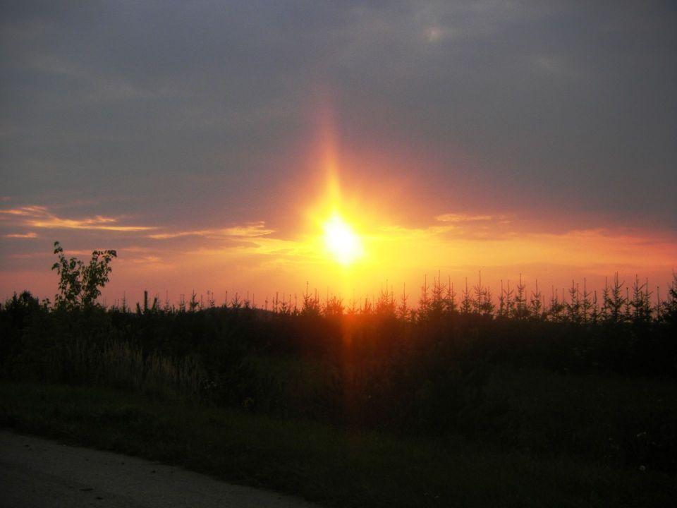 Солнце в поселении родовых поместий Просторное