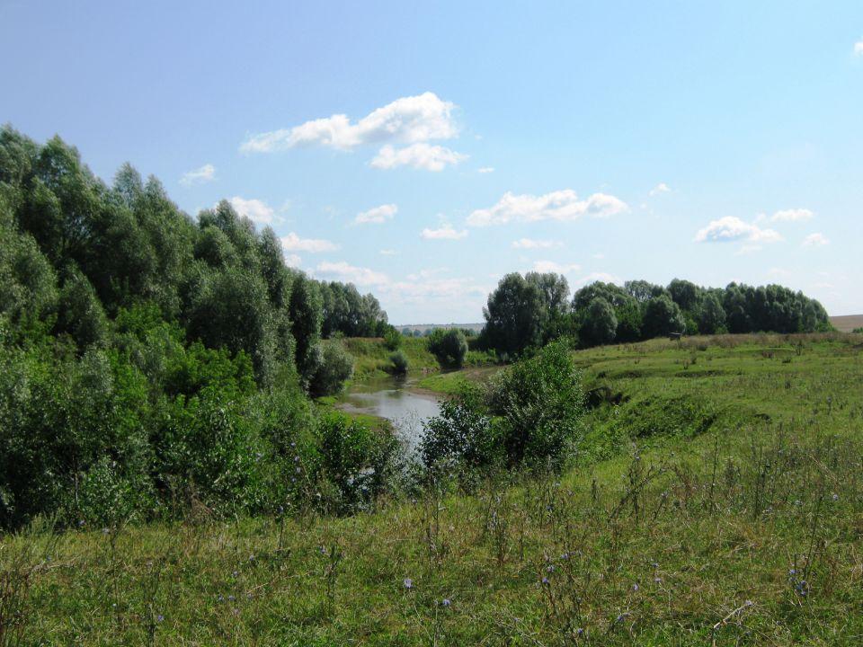 Река в поселении родовых поместий Просторное