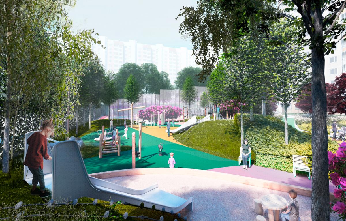 проект благоустройства дворовых территорий, парков, детских и спортивных площадок