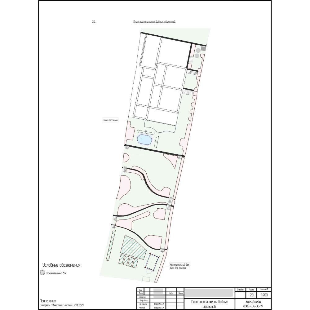 План-расположения-водных-объектов-на-участке-Ландшафтный-дизайн-сада-AnkoDesign