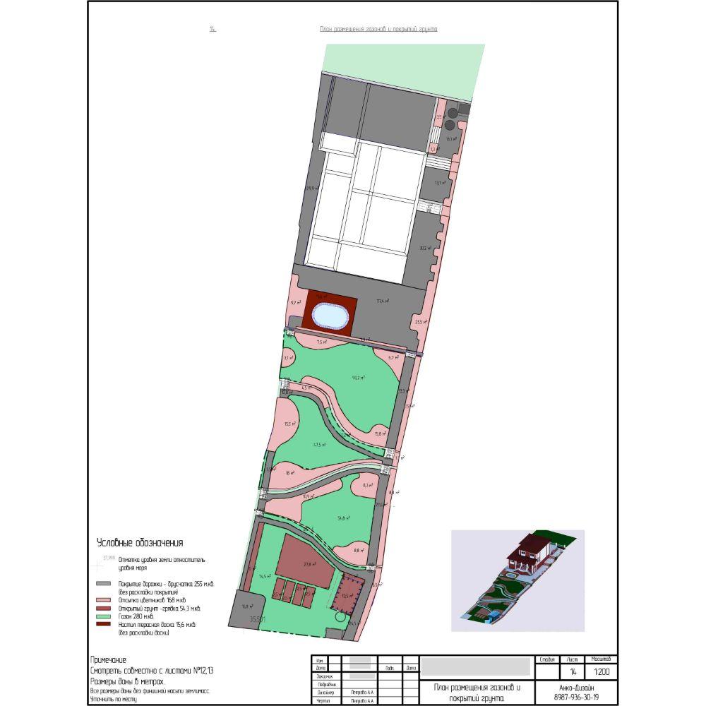 План-размещения-газонов-и-покрытий-грунта-на-участке-Ландшафтный-дизайн-AnkoDesign