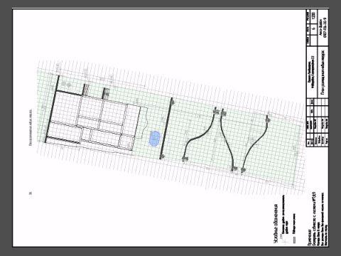 План размещения новых террас.