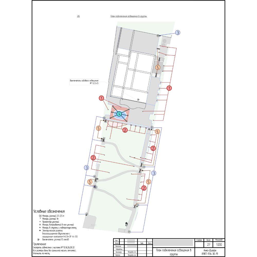Подключение-освещения-в-группы-на-участке-Ландшафтный-дизайн-сада-AnkoDesign