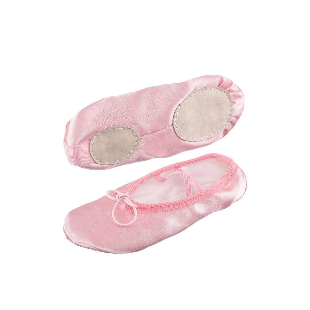 картинка Балетки Атлас (розовые)  от магазина Одежда+