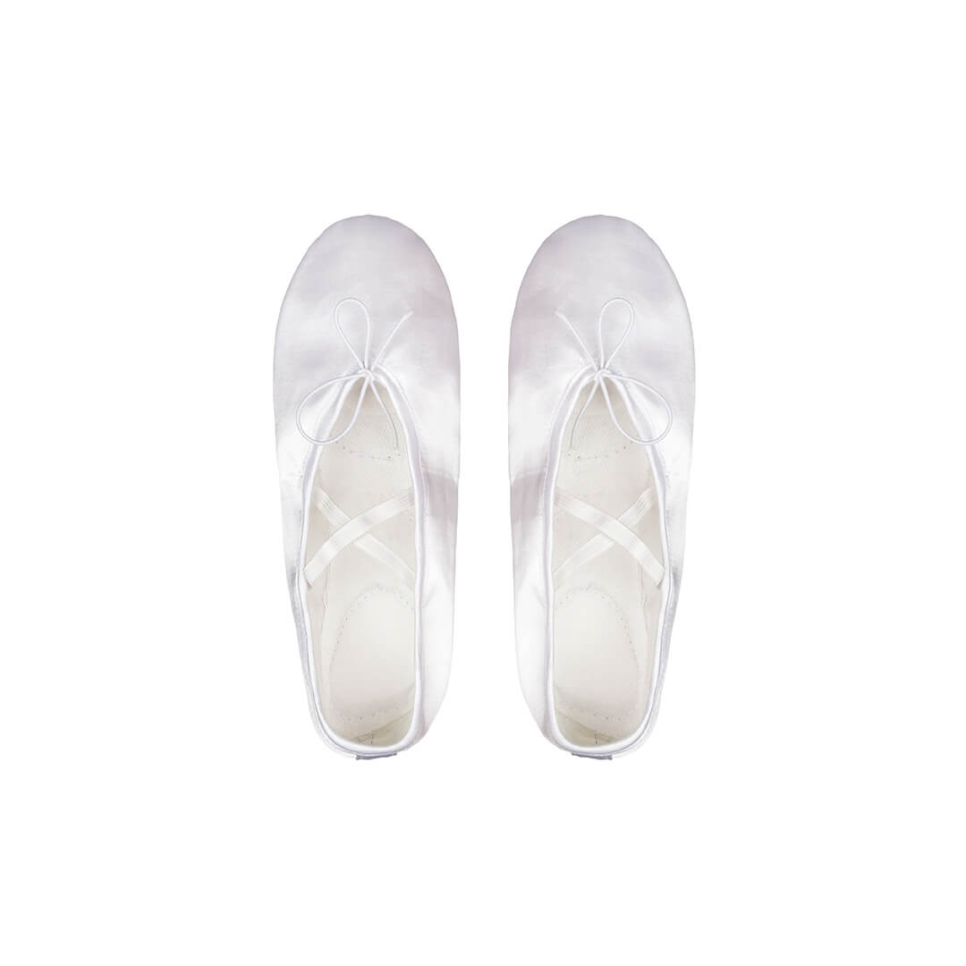 картинка Балетки Атлас (белые)  от магазина Одежда+