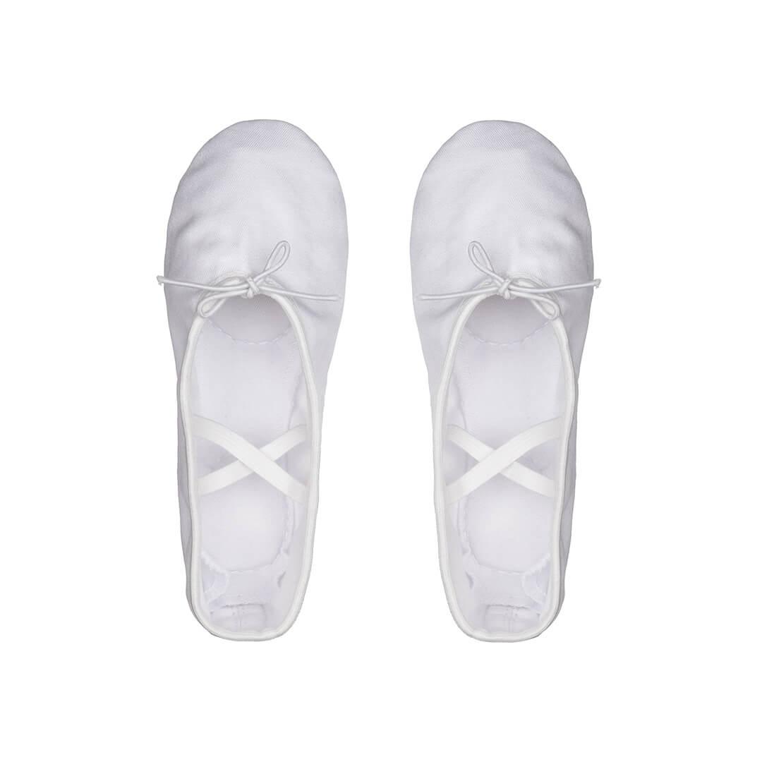 картинка Балетки Классика Текстиль (белые)  от магазина Одежда+