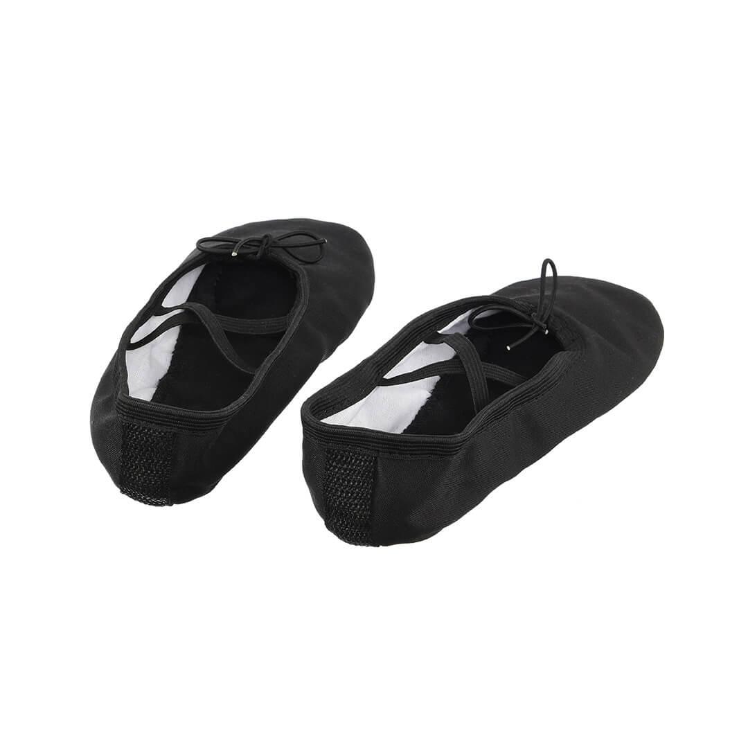 картинка Балетки Классика Текстиль (черные)  от магазина Одежда+