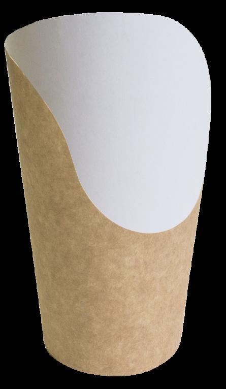 Бумажная упаковка для снеков Крафт