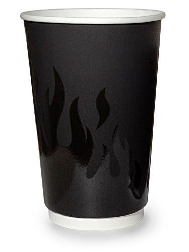 Двухслойный бумажный стакан thermoCup Огонь
