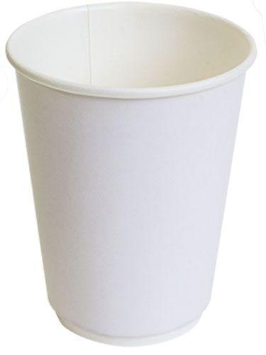 Двухслойный бумажный стакан thermoCup белый