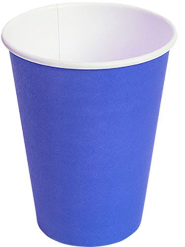 Бумажный стакан Синий