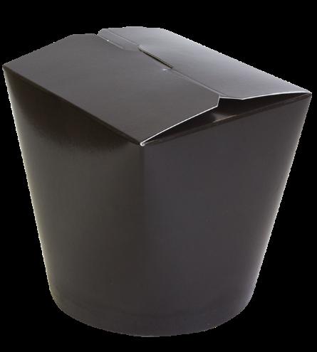 Бумажный чайна-бокс Черный