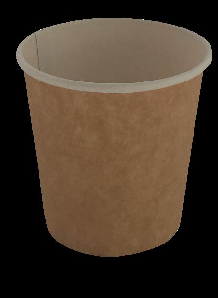 Бумажный контейнер Крафт
