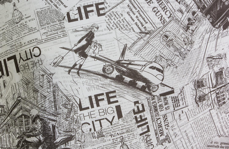 Бумажная оберточная бумага Big City Life