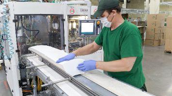 Безопасное производство бумажных стаканов