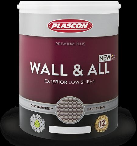 Краска фасадная полуматовая на основе 100% акрилового полимера Wall & All от магазина премиальных японских красок Kansai paint