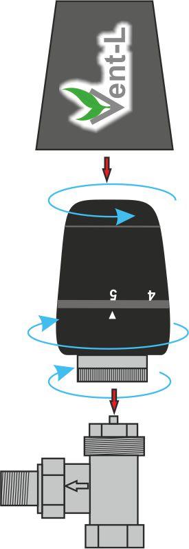 картинка Термокран Vent-L K01 от магазина Vent-L