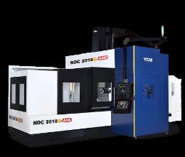 Портальный фрезерный обрабатывающий центр NDC2018B-AHC YCM